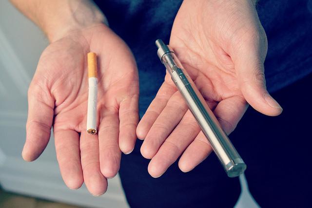 電子タバコ(ベイプ)と普通のタバコの違い